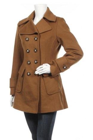 Дамско палто Shelli Segal, Размер M, Цвят Кафяв, 80% вълна, 20% полиамид, Цена 41,58лв.
