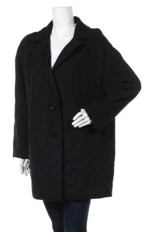 Дамско палто Laura T., Размер XL, Цвят Черен, Полиестер, Цена 55,86лв.