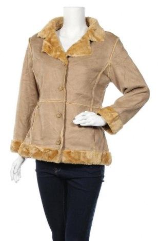 Дамско палто Laurel, Размер S, Цвят Бежов, Полиестер, Цена 18,90лв.
