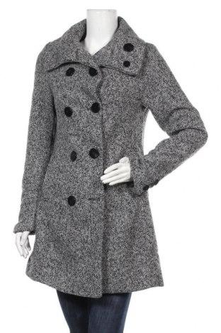 Γυναικείο παλτό Lee Cooper, Μέγεθος L, Χρώμα Γκρί, 90% πολυεστέρας, 10% μαλλί, Τιμή 41,75€