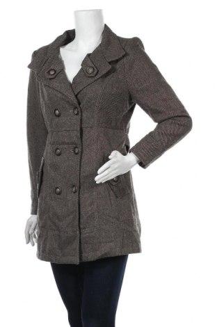 Дамско палто Lee Cooper, Размер S, Цвят Кафяв, 45% вълна, 55% полиестер, Цена 27,56лв.