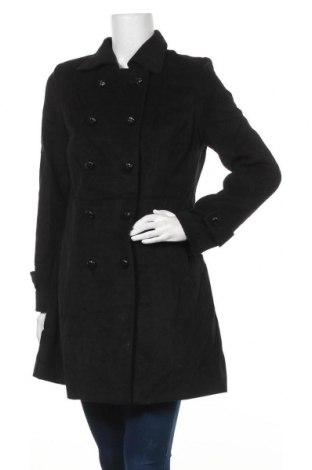 Дамско палто Ligne A Suivre, Размер M, Цвят Черен, 95% полиестер, 5% вискоза, Цена 43,89лв.