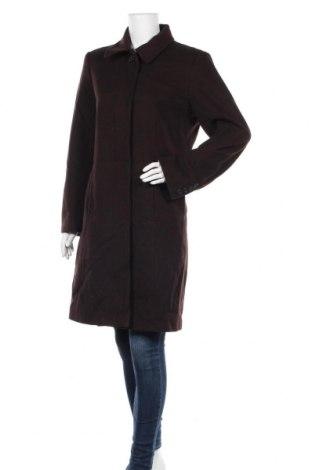 Дамско палто Liz Claiborne, Размер L, Цвят Кафяв, 100% вълна, Цена 61,58лв.