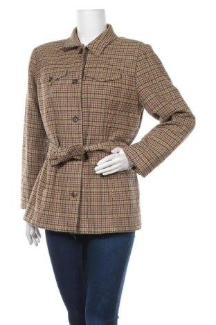 Дамско палто Liz Claiborne, Размер M, Цвят Кафяв, Вълна, Цена 66,83лв.