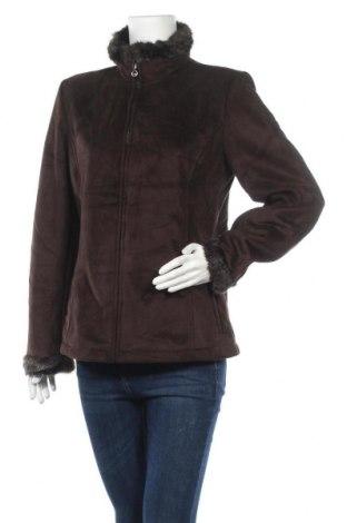 Дамско палто Liz Claiborne, Размер M, Цвят Кафяв, Полиестер, Цена 40,90лв.