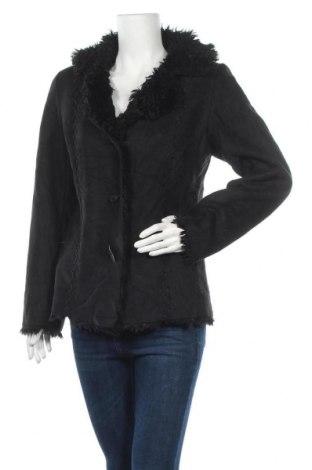 Дамско палто Liz Claiborne, Размер S, Цвят Черен, Полиестер, Цена 40,90лв.