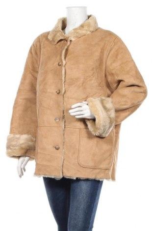 Дамско палто Liz Claiborne, Размер L, Цвят Бежов, Полиестер, Цена 14,25лв.