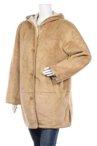 Дамско палто Liz Claiborne, Размер L, Цвят Бежов, Полиестер, Цена 48,30лв.