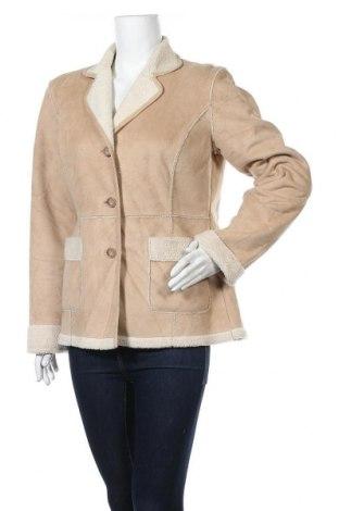 Дамско палто Loft By Ann Taylor, Размер M, Цвят Бежов, Полиестер, Цена 81,27лв.