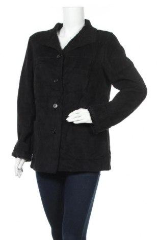 Дамско палто Loft By Ann Taylor, Размер L, Цвят Черен, Полиестер, Цена 82,32лв.