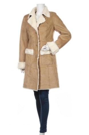 Дамско палто Loft By Ann Taylor, Размер M, Цвят Бежов, Полиестер, Цена 123,90лв.