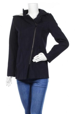 Дамско палто Made In Italy, Размер S, Цвят Син, 70% полиестер, 30% вискоза, Цена 23,50лв.