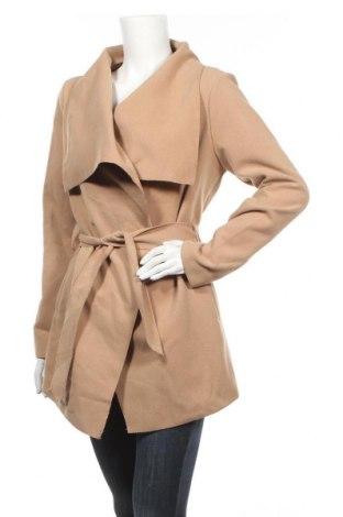 Дамско палто Madonna, Размер M, Цвят Бежов, Цена 30,24лв.