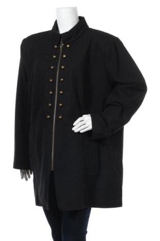 Дамско палто Maite Kelly by Bonprix, Размер 3XL, Цвят Черен, 70% полиестер, 30% вълна, Цена 56,70лв.