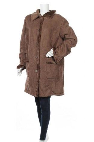 Дамско палто Malva, Размер XXL, Цвят Бежов, Полиестер, Цена 13,65лв.