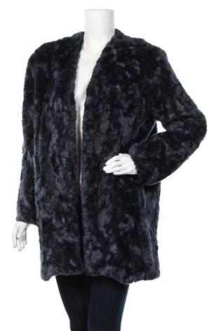 Дамско палто Mango, Размер S, Цвят Син, Акрил, полиестер, Цена 81,75лв.
