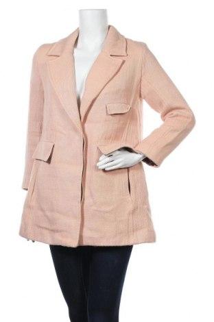 Дамско палто Mango, Размер S, Цвят Розов, Памук, Цена 13,97лв.