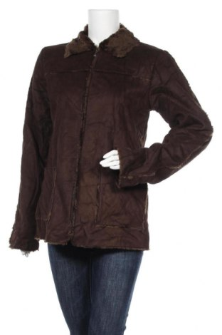 Дамско палто Mangoon, Размер M, Цвят Кафяв, Полиестер, Цена 12,60лв.
