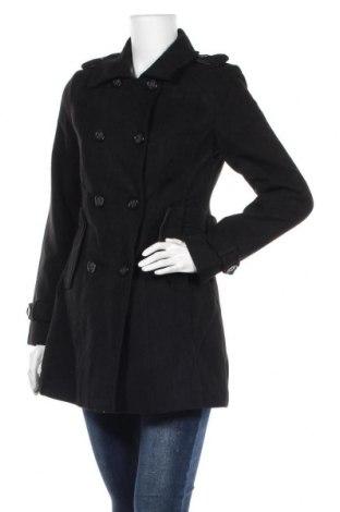 Дамско палто Maralyn&me, Размер M, Цвят Черен, 93% полиестер, 5% вискоза, 2% еластан, Цена 31,92лв.