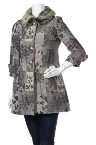 Дамско палто Marc Jacobs, Размер S, Цвят Многоцветен, Памук, естествен косъм, Цена 86,00лв.