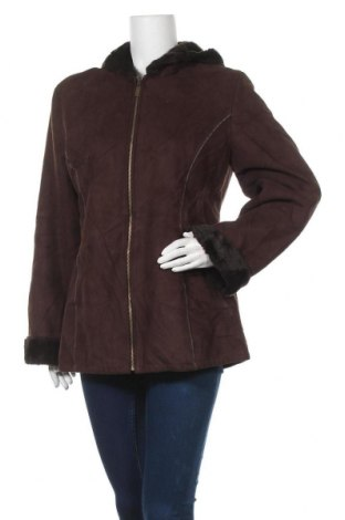 Дамско палто Marvin Richards, Размер L, Цвят Кафяв, Полиестер, Цена 28,82лв.