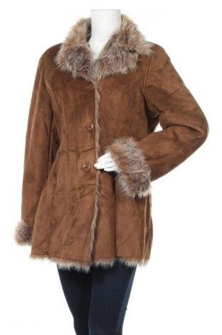 Γυναικείο παλτό Mauritius, Μέγεθος XL, Χρώμα Καφέ, Πολυεστέρας, Τιμή 65,47€
