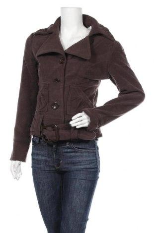 Дамско палто Melrose, Размер S, Цвят Кафяв, 77% полиестер, 20% вискоза, 3% еластан, Цена 15,96лв.