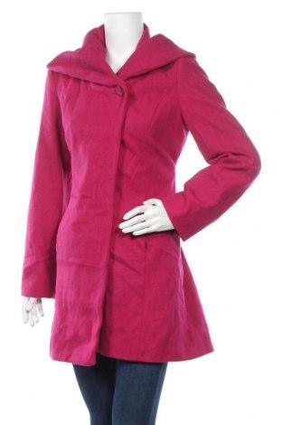 Дамско палто Merona, Размер M, Цвят Розов, 65% вълна, 35% полиестер, Цена 57,12лв.