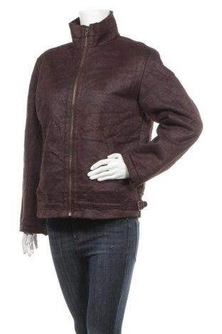 Дамско палто Modern Style, Размер S, Цвят Кафяв, Полиестер, Цена 18,01лв.