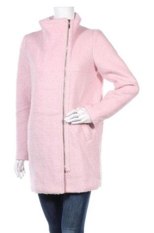 Γυναικείο παλτό Mohito, Μέγεθος S, Χρώμα Ρόζ , 55% πολυεστέρας, 45% μαλλί, Τιμή 31,82€