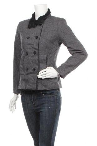 Дамско палто Monoprix Autre Ton, Размер S, Цвят Сив, 60% вълна, 40% вискоза, Цена 21,32лв.
