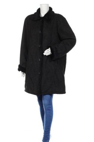Γυναικείο παλτό New View, Μέγεθος L, Χρώμα Μαύρο, Πολυεστέρας, Τιμή 27,02€
