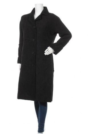 Γυναικείο παλτό New View, Μέγεθος M, Χρώμα Μαύρο, Πολυεστέρας, Τιμή 41,96€