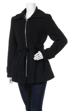 Γυναικείο παλτό Nine West, Μέγεθος M, Χρώμα Μαύρο, 78% μαλλί, 20% πολυεστέρας, 2% άλλα υφάσματα, Τιμή 66,87€
