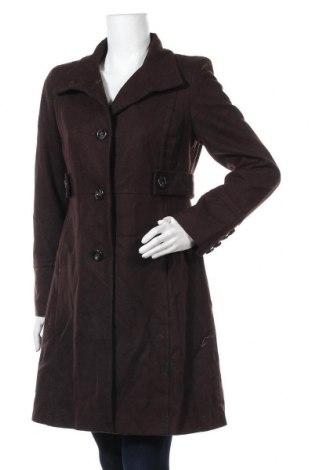 Γυναικείο παλτό Nine West, Μέγεθος M, Χρώμα Καφέ, 52% μαλλί, 40% πολυεστέρας, 8% βισκόζη, Τιμή 66,85€