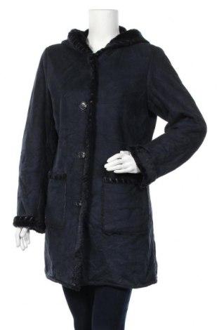 Дамско палто Novelti, Размер M, Цвят Син, Полиестер, Цена 38,12лв.