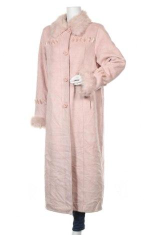 Дамско палто Novelti, Размер L, Цвят Розов, Полиестер, Цена 59,06лв.