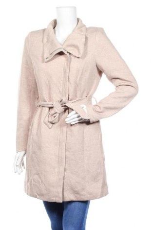 Дамско палто ONLY, Размер M, Цвят Бежов, 85% полиестер, 15% памук, Цена 23,63лв.
