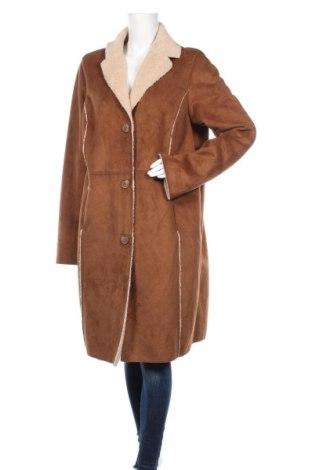 Дамско палто Old Navy, Размер XL, Цвят Кафяв, Полиестер, Цена 19,85лв.