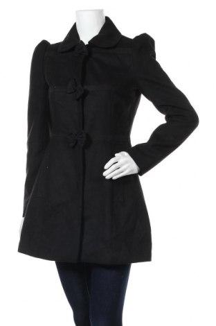 Дамско палто Orsay, Размер S, Цвят Черен, Полиестер, Цена 64,26лв.