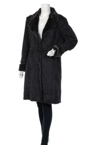 Дамско палто Outfit, Размер XL, Цвят Черен, Полиестер, Цена 41,16лв.