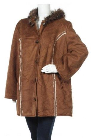 Дамско палто Penmans, Размер XXL, Цвят Кафяв, 100% полиестер, Цена 26,46лв.
