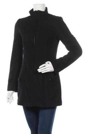 Дамско палто Pimkie, Размер XS, Цвят Черен, Цена 37,80лв.