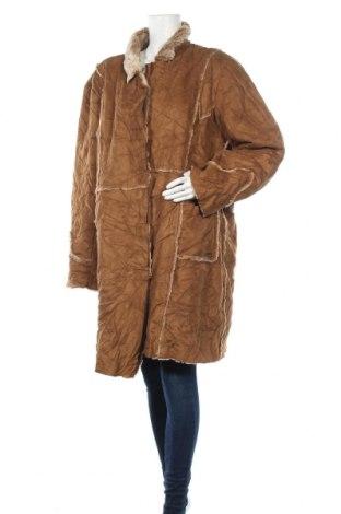 Дамско палто Point Zero, Размер 3XL, Цвят Кафяв, 60% полиестер, 40% акрил, Цена 25,52лв.