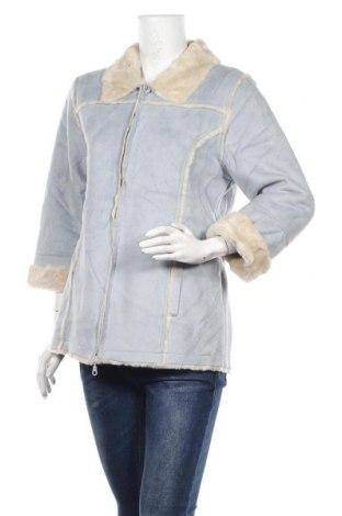 Дамско палто Point Zero, Размер M, Цвят Син, 45% акрил, 35% полиестер, 20% модал, Цена 21,42лв.