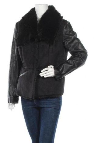 Γυναικείο παλτό Rainbow, Μέγεθος XL, Χρώμα Μαύρο, Πολυεστέρας, δερματίνη, Τιμή 32,15€