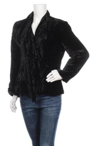 Γυναικείο παλτό Resort Report, Μέγεθος L, Χρώμα Μαύρο, 82% βισκόζη, 18% μετάξι, Τιμή 28,58€