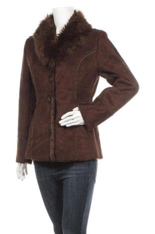 Дамско палто Ricki's, Размер S, Цвят Кафяв, Акрил, Цена 21,26лв.