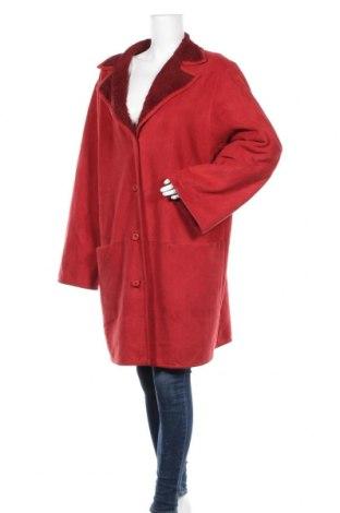 Γυναικείο παλτό Sallie Sahne, Μέγεθος XL, Χρώμα Κόκκινο, 60% πολυεστέρας, 40% μοντάλ, Τιμή 27,93€