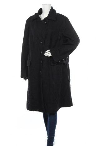 Γυναικείο παλτό Samoon By Gerry Weber, Μέγεθος 3XL, Χρώμα Μαύρο, 80% μαλλί, 20% πολυαμίδη, Τιμή 45,59€